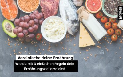 Vereinfache deine Ernährung